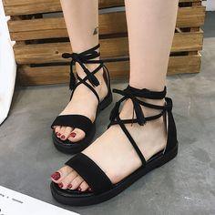 Korean Sandals, Korean Shoes, Fashion Sandals, Fashion Boots, Sneakers Fashion, Kawaii Shoes, Pretty Sandals, Stylish Sandals, Women's Feet