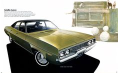 1972 Plymouth Satellite Custom Four Door Sedan
