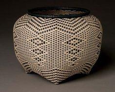Black Ash splint basket by JoAnn Kelly Catsos (copyright JoAnn Kelly Catsos)
