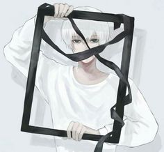 in this shaken, twisted world, i gradually become transparent, unable to be seen Kaneki, Manga Anime, Anime Guys, Anime Art, Tokyo Ghoul Wallpapers, Ken Tokyo Ghoul, Anime Costumes, Manga Drawing, Boy Drawing