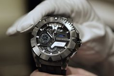Harry Winston Ocean Sport Chronograph Watch 411 - Limited Edition of 300 pieces. Price: $31,500.00
