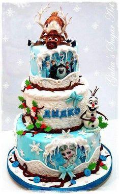 Frozen cake!!!!!!