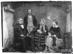 last known photograph taken of Robert stephenson - 1850's sceince museum collection ( ingenious site)
