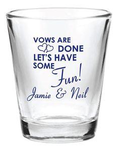 wedding favor glass shot glasses custom wedding favors on etsy 162