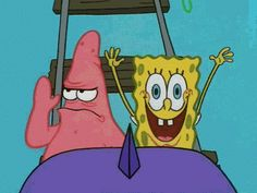 Although you've been in your fair share of fights… | 27 Signs You And Your BFF Might Actually Be Spongebob And Patrick