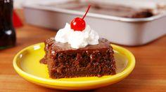 Coca Cola Cake - Delish.com Looks like Texan Sheet Cake. I wonder if it tastes like it.