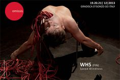 #omissis2013 | WHS (FI) - Speed Blindness NEW MAGIC PERFORMANCE  19.20.21 | 12 | 2013 Gradisca d'Isonzo (GO) Italy | omissis international contemporary performing arts festival | www.omissisfestival.it