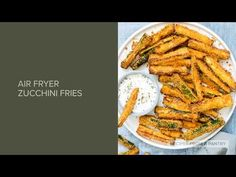 Air Fryer Zucchini Fries are healthy, delicious and soooo quick and easy to make! Crispy and golden, these Parmesan zucchini fries are totally crave worthy. Air Fryer Recipes Zucchini, Air Fryer Oven Recipes, Low Carb Recipes, Vegetarian Recipes, Ninja Recipes, Oven Baked Burgers, Parmesan Zucchini Fries, Instant Pot Pork Chops, Air Frier Recipes