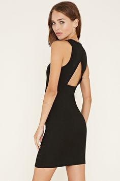 Cutout-Back Mini Dress - Dresses - 2000169748 - Forever 21 EU English