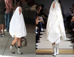 David Cross making fun of high fashion