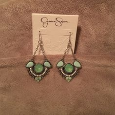 NOT FOR SALE. - Brand New Jessica Simpson Earrings Jessica Simpson Earrings Jewelry Earrings