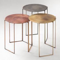 Tribù coffee tables by Michela & Paolo Baldessari for De Castelli