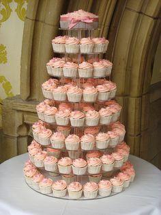 Wedding cupcake tower? The Yummy Cupcake Company.