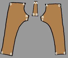 Thorsberg Trousers tutorial