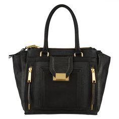 ALDO Shirts ($95) ❤ liked on Polyvore featuring bags, handbags, tote bags, purses, accessories, bolsas, borse, midnight black, black hand bags and man bag