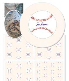 Baseball Organic Cotton Personalized Blanket, Personalized Throw Blanket, Baby Blanket, Or... $74