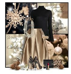 """Merry Christmas!!"" by uniqueimage ❤ liked on Polyvore featuring Lanvin, TIBI, River Island, Jimmy Choo, Chanel, Fallon, Valentino, women's clothing, women and female"