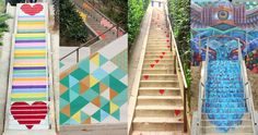 The 2017 Painted Stairways Tour is a half day, 6.7 mile walk that visits 11 of the gorgeous painted stairways in the Silver Lake neighborhood of Los Angeles. 2016 Painted Stairways Tour info and li…