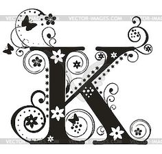 225 Best K For Krista Images On Pinterest Letter K Initials And