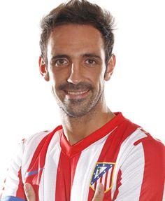 Haz click sobre la foto de Juanfran para ver su ficha técnica en la página web del Club.