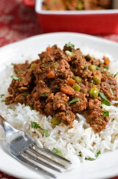 Slimming Slimming Eats Syn Free Keema Curry - gluten free, dairy free, paleo, Instant Pot, Slimming World and Weight Watchers friendly - Slimming World Dinners, Slimming World Recipes Syn Free, Slimming Eats, Slimming World Minced Beef Recipes, Slimming Word, Healthy Dinner Recipes, Indian Food Recipes, Diet Recipes, Healthy Meals