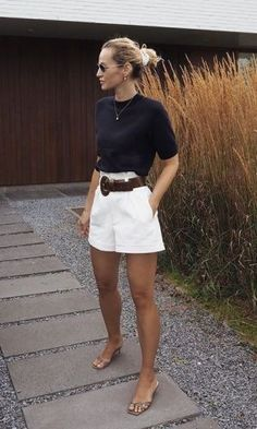 Boho Summer Outfits, Classy Outfits, Spring Outfits, Casual Outfits, Summer Clothes, Casual Attire, Comfortable Outfits, Teen Girl Outfits, Short Outfits
