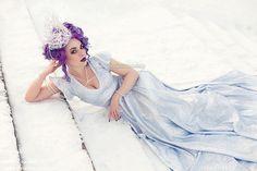Model hair and make up: Insanitea Dress: Coquetry Photo: Josefine Jönsson  buy signed prints: www.etsy.com/shop/Josefinejonsson