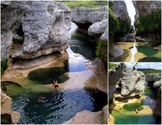 Secret swimming spot....The Narrows. S side of Lake Travis near the community of Spicewood. From Austin take Texas 71, turn north on Spur 191, and proceed approximately one mile to Spicewood. Continue traveling north 1.1 miles on Burnet County Road 410 to CR 411, which is a gravel road. Proceed approximately 1.5 miles north to the entrance for the Narrows Recreation Area.