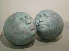 Esculturas de Samuel Salcedo en la galería Ferran Cano