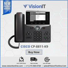 Cisco CP 7841 CP-7841-K9 VoIP Phone Loc PL
