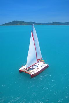 The Boat from Tongarra Sailing Adventures #vacation #ecotourism #Queensland #Australia