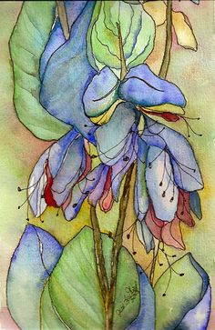 Mystic Blue by Julie Leuthold