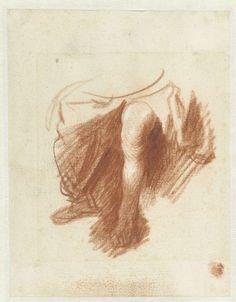 Rembrandt Harmensz. van Rijn   De benen van een vrouw, Rembrandt Harmensz. van Rijn, 1628 - 1629  