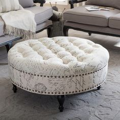 Puff Ottoman  Softness Style Storage has never been so Cool! Since the beginning of the year many girls were looking for our Charming guide and it is finally got released. Now It Is Time To Take Action! See how... #interiors #homedecor #interiordesign #homedecortips Modern Ottoman, Round Ottoman, Upholstered Ottoman, Interior Decorating Styles, Home Interior Design, Decorating Rooms, Interior Designing, Modern Interior, Easy Home Decor
