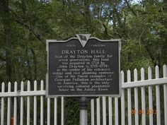 Drayton Hall (Charleston, SC): Hours, Address, Point of Interest & Landmark Reviews - TripAdvisor