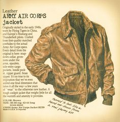Flying Tigers - A2 Leather jacket