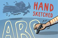 Handyman the Skillful Font Family by Mammoth! on @creativemarket
