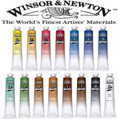 WINDSOR & NEWTON WINTON OIL PAINT 200ml TUBE ARTIST ART 30 GREAT COLOURS