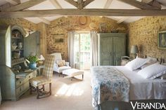 Country French Bedroom.....See More at thefrenchinspiredroom.com