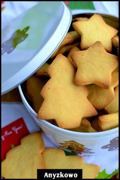 Anyżkowo: Kruche maślane ciasteczka
