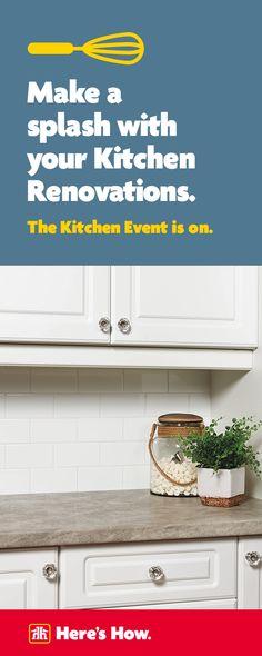 New Kitchen Makeover Rustic Subway Tiles 45 Ideas Small Kitchen Cabinets, Kitchen Reno, Kitchen And Bath, New Kitchen, Kitchen Remodel, Condo Kitchen, Home Office Closet, Log Home Kitchens, Desk Organization Diy
