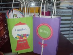 candyland goodie bags