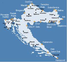 Grensovergangen Kroatië  Camping Vereniging