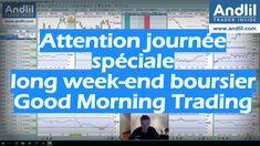 Attention journée spéciale, long week-end boursier, Good Morning Trading Article + Vidéo AT : https://www.andlil.com/attention-journee-speciale-long-week-end-boursier-good-morning-trading-202631.html Bons trades à tous et toutes #trading. Ce soir bilan du mois en vidéo