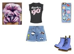 """Untitled #507"" by avrilsauntie013113 ❤ liked on Polyvore featuring Wildfox, Zero Gravity, Paul & Joe Sister and Dr. Martens"