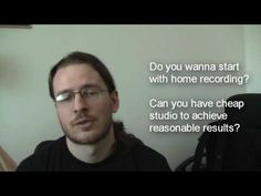 Newbie home recording tutorial (1): Audacity.  Overdubbing, etc.