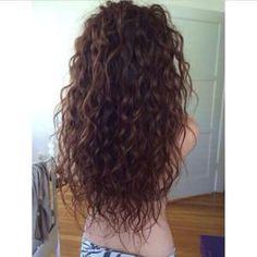New hair wavy perm curls 70 Ideas Curly Perm, Long Curly Hair, Curly Hair Styles, Perms For Long Hair, Hair Perms, Long Permed Hairstyles, Top Hairstyles, Medium Hairstyles, Perm Curls