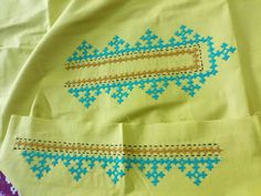 Handmade Embroidery Designs, Hand Embroidery Patterns Flowers, Kurti Embroidery Design, Embroidery Neck Designs, Hand Embroidery Videos, Hand Embroidery Tutorial, Hand Embroidery Stitches, Kutch Work Designs, Hand Painted Fabric