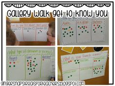 Great quick, anonymous walk-about assessment for the first week back at school