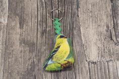 """Schlüsselanhänger - Schlüsselanhänger """"Vogel"""" - ein Designerstück von MarLinas-Blickfaenge bei DaWanda"""